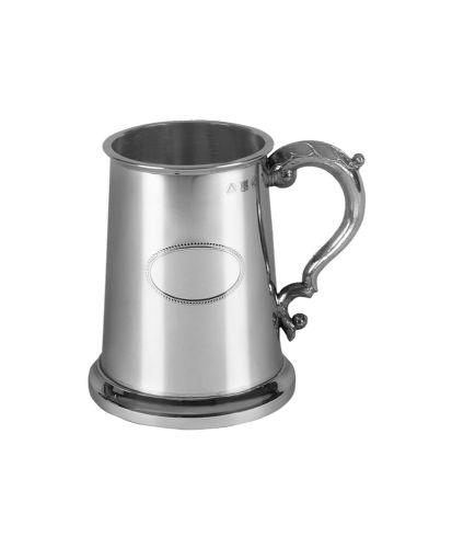 King's Shilling | Polished | Pewter Tankard